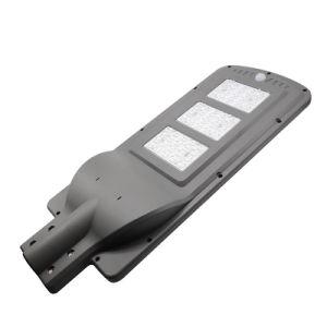 Nouveau boîtier extérieur prix d'usine Keou étanche IP65 60W du capteur de mouvement intelligent tous dans une rue lumière LED solaire avec batterie