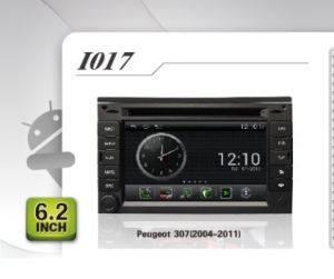 Peugeot 307 GPS Headunit (2004-2011년)를 위한 순수한 인조 인간 차 DVD