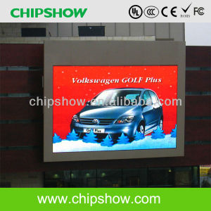 Chipshow P13.33 LED de message d'affichage vidéo numérique