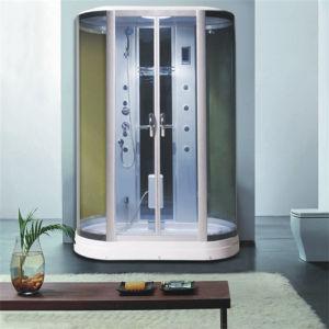 El vidrio de seguridad sala de vapor, cabina de ducha deslizante de dos personas