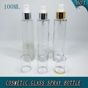 100ml Delgado Cilindro de vidrio de perfumes cosméticos de Clara atomizador