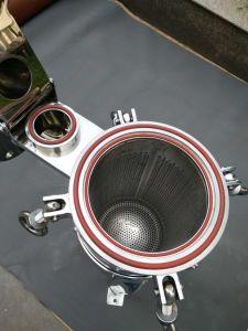 A entrée supérieure du boîtier de filtre avec ss 304 ss 316