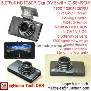 Das 3.0  volle HD1080p Auto-Kamera eingebauten G-Fühler, Novatek96650 Chipset, 5.0mega CMOS Gedankenstrich-Kamera, WDR, Nachtsicht, Auto DVR-3004 abnehmen des Winkel-170degree