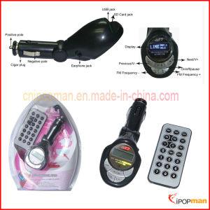 밖으로 선 선수를 가진 차 FM 전송기는 Bluetooth 기능에 MP3 작용한다
