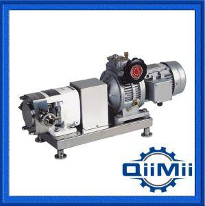 Les mesures sanitaires AISI 304 Moteur du convertisseur de pompe à lobes, 50Hz ou 60Hz