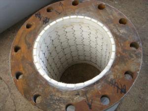La fabbrica fornisce il tubo d'acciaio del rivestimento di ceramica dell'allumina di 92%