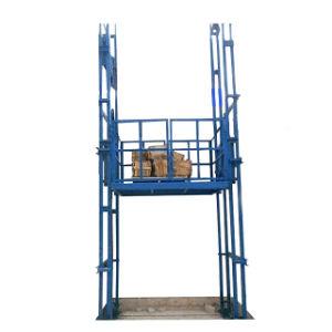 Hidráulico de Elevación Vertical de almacén de mercancías de carga eléctrica de la plataforma de elevación
