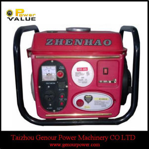 Single Phaseの500W 650W Small Home Gasoline Generator