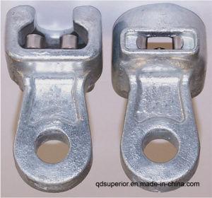 Zócalo de la lengua de la línea aérea para la colocación de herrajes eléctricos