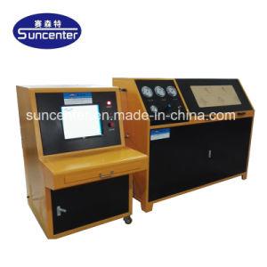 Suncenterの管またはホースまたは管の破烈の圧力試験機械