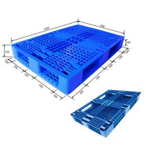 1200x800mm grande Pesado de paletes de plástico empilháveis