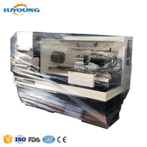Ck6136高精度電気CNCの自動旋盤機械