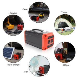 야영 Backpacking 여행을%s 태양 전지판을%s 가진 어려운 조밀한 발전기