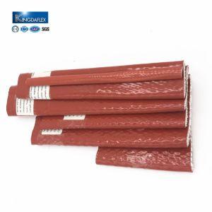 Silikonumhüllte Feuer-Hochtemperaturhülsen des Fiberglas-Dn40