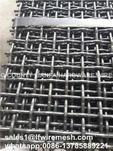 Gabbroの総計のためのフラットパネルロックによってひだを付けられる織り方の金網