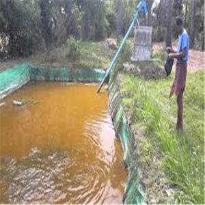 屋外の労働のための魚のいる池水プールの泥沼の防水シート