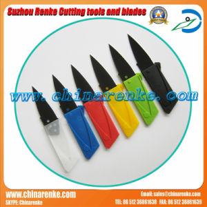 Venta caliente tarjeta de crédito cuchillo cuchillo Navaja plegable