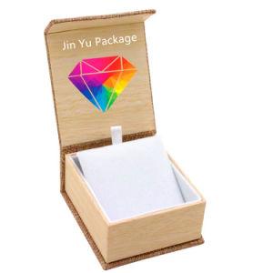 Fábrica Artesanal magnético pendientes de joyería de regalo papel de embalaje