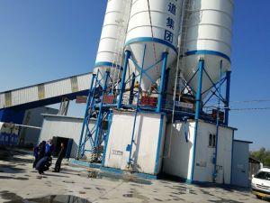 Конкретные заслонки смешения воздушных потоков и свойства завод Hzs 120 с цементом в бункере