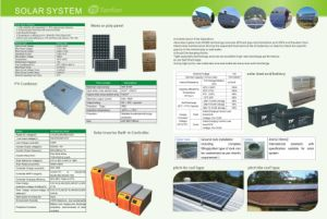 1kw 2kw 3kw 5kw Solar Energy Systems-Bodenmontierungs-Lösung