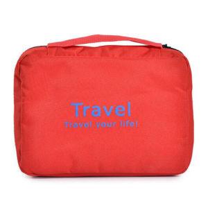 Bewegliche wasserdichte Handtaschen-Wäsche-kosmetischer Arbeitsweg-Beutel (FWB-005)