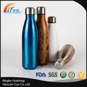 fles van het Drinkwater van het manierBPA de Vrije VacuümRoestvrij staal met de Kleur van de Druk van de Douane