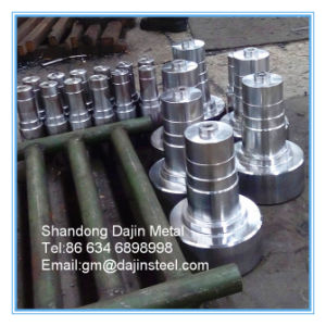 SAE4130 4140 4150 4340 Forgeage barre en acier allié de l'arbre/forgeage