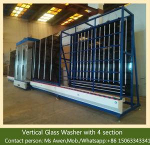 Macchina di pulizia di vetro - macchina del pulitore del vetro float