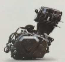 Cg150 공기는 물에 의하여 냉각된 세발자전거 엔진을 냉각했다