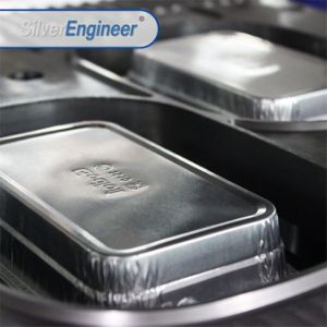 Пневматический контейнер для продуктов питания из алюминиевой фольги бумагоделательной машины