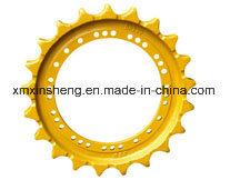 machinerie de construction de la roue dentée / Segments de Caterpillar D7 de l'excavateur Bulldoer pièces pièces du châssis porteur /