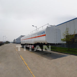 タイタンの炭素鋼60000リットルの粗野な石油貯蔵のトレーラータンク