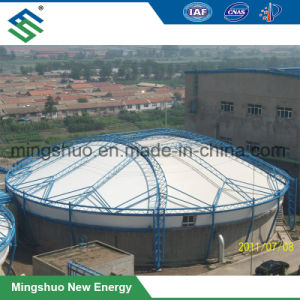 Structure en acier d'étanchéité de l'usine de traitement des eaux usées