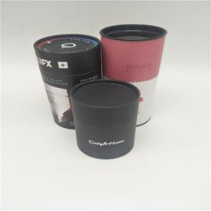 Comercio al por mayor impresión personalizada té Caja de papel de embalaje Caja de papel de tubo