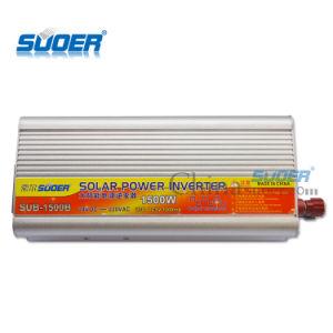 Convertidor de energía solar automático 1500W Inversor de potencia 24V 220V para uso doméstico con un bajo precio (SUB-1500B)
