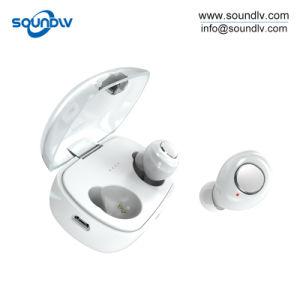 Twsの小型無線スポーツの防水ハンズフリーのBluetoothの耳のヘッドセットのイヤホーン