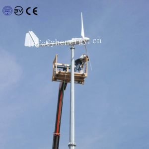 3KW AC Gerador trifásico eixo horizontal do Alternador do vento