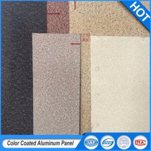 Plaque en aluminium à revêtement de couleur des panneaux muraux avec alliage 1100/3003/3004 pour l'extérieur et intérieur