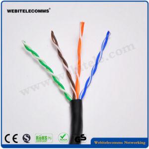 Buena Transmisión Cable UTP Cat5e para el gabinete de la red