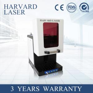 분리가능한 방어적인 문을%s 가진 소형 CNC 섬유 Laser 표하기 기계