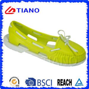 Casual Zapatos al aire libre del jardín de EVA Clog coloridas para la Señora (TNK30041)