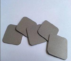 Gr2 Filtro de metal poroso do filtro de cartucho de disco sinterizado de titânio