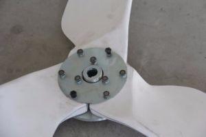 Sistema ibrido solare Hawt del vento della turbina di vento 3kw