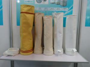 Sacchetto filtro del feltro dell'ago del poliestere per il filtro da Baghouse