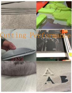 Los productos al aire libre Digital CNC Máquina de corte para la ropa de Tela Tela Leathertextile plotter de corte con CE