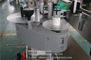 Frasco de ronda automática jarros de latas de máquina de rotulação