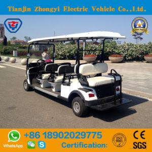 8 Lugares de venda quente Zhongyi carrinho de golfe com certificação CE