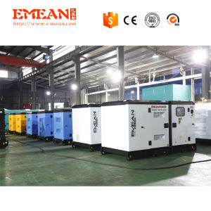큰 힘 300kw 375kVA 전기 휴대용 침묵하는 디젤 엔진 발전기 3phase 엔진 세트