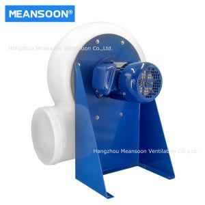 10 polegadas 250 ventilador centrífugo de plástico para fumos químicos corrosivos