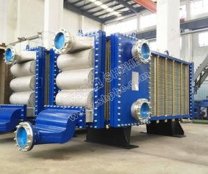 Solid-Liquidの二相流れのための産業広いChannalの溶接ステンレス鋼の版の熱交換器